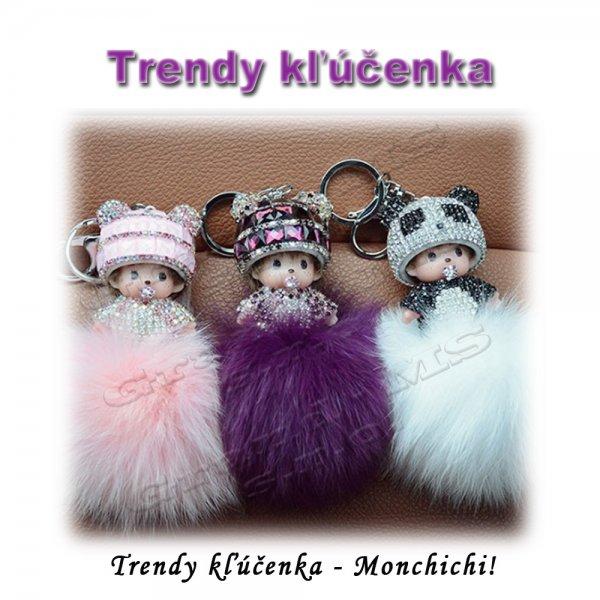 Ostatný tovar   Trendy prívesok Monchichi 73285f1fdf1