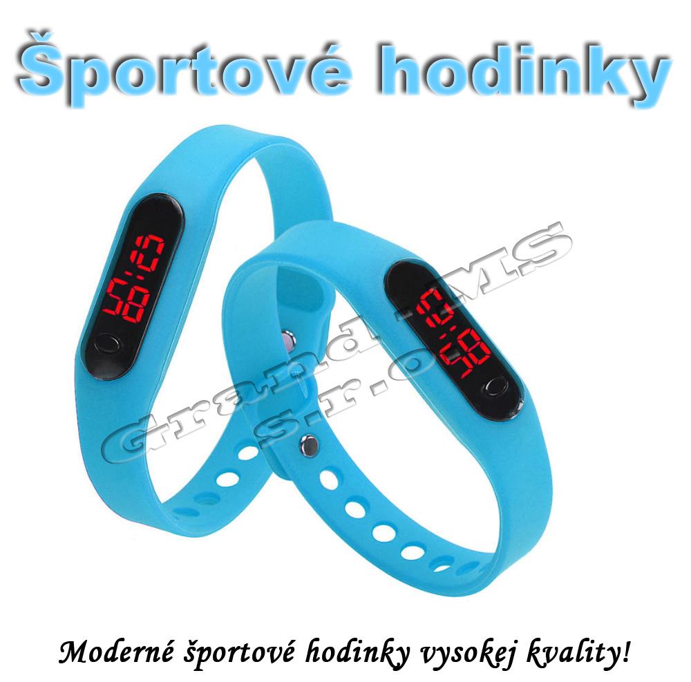 9ac836799 Ostatný tovar: Športové digitálne hodinky QUEEN-US 0217, bledo modré
