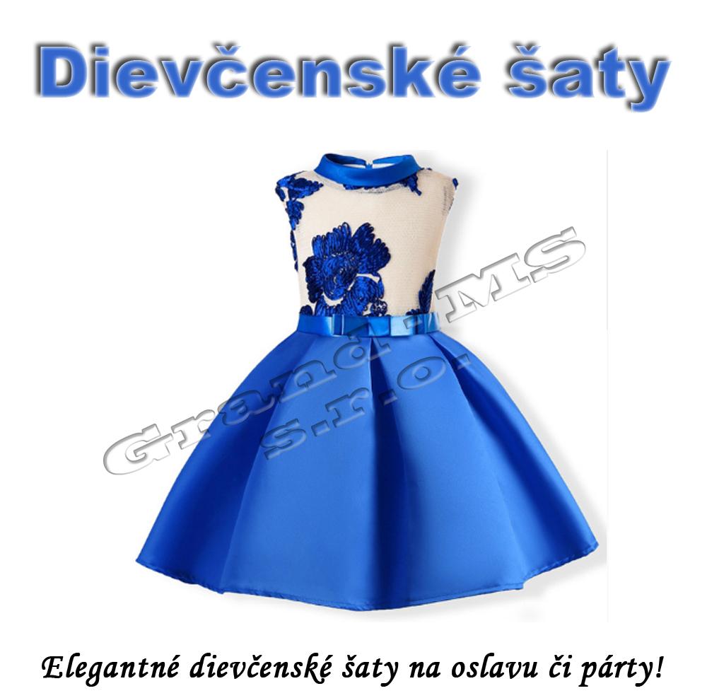 dd9ad976fe49 Ostatný tovar  Elegantné dievčenské šaty - Kvety 2