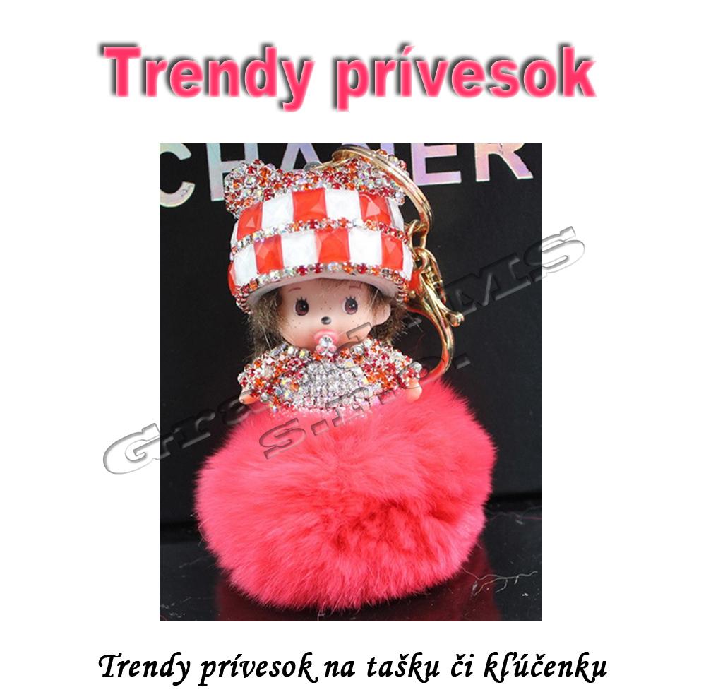 Trendy prívesok Monchichi 5c21145aecf