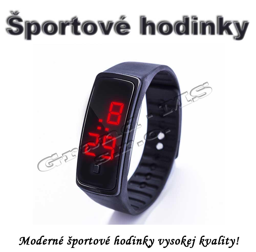 8e88f4637 Ostatný tovar: Športové digitálne hodinky QUEEN-US 0218, čierne