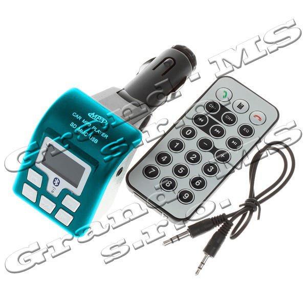 """Mp3 prehrávač do auta """"QUEEN-US"""" model 003BL transmitter + Bluetooth"""