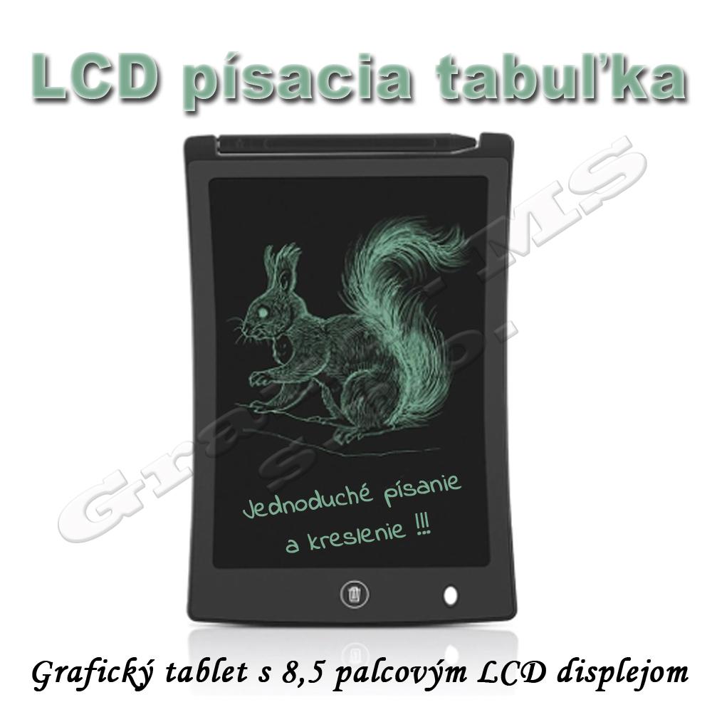 Elektronická písacia tabuľa s LCD pre deti - 8,5