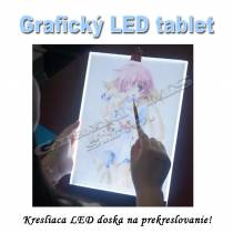 Grafický LED tablet DRAW - Kresliaca LED doska