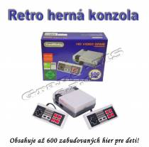 TV retro herná konzola COOLBABY so 600 hrami
