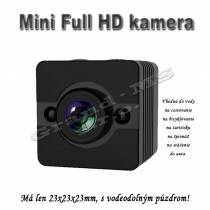 Mini kamera SQ12 s Full HD a detekciou pohybu