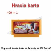 Hracia karta do konzoly so 400 hrami