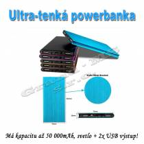PowerBank  ultra slim 50000 mAh -  model QUEEN-US 0024