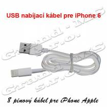 Nabíjací USB kábel pre Apple iPhone 5S SE 6S 7 8 IPOD IPAD