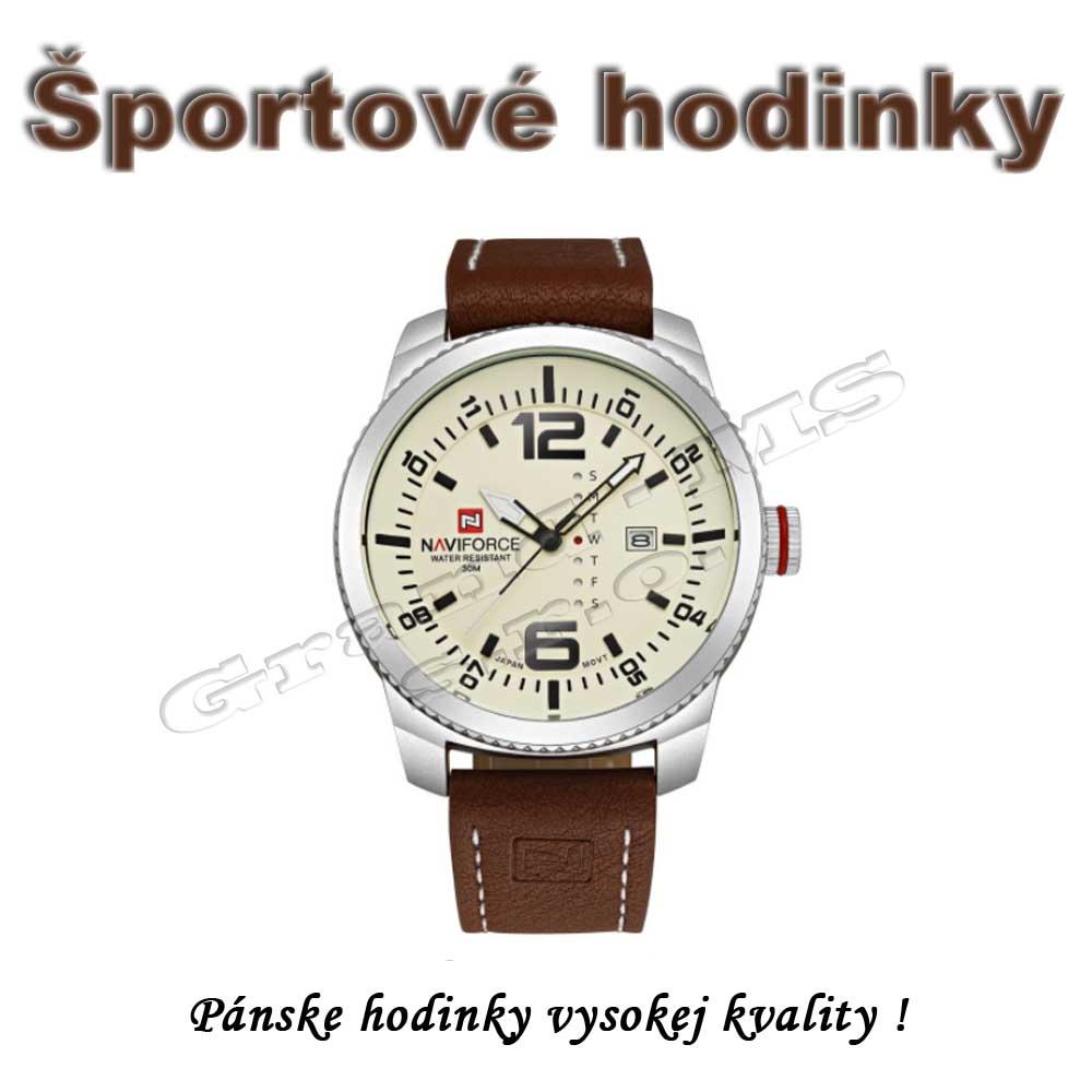 0565c569b Ostatný tovar: Luxusné pánske hodinky - NAVIFORCE 9063